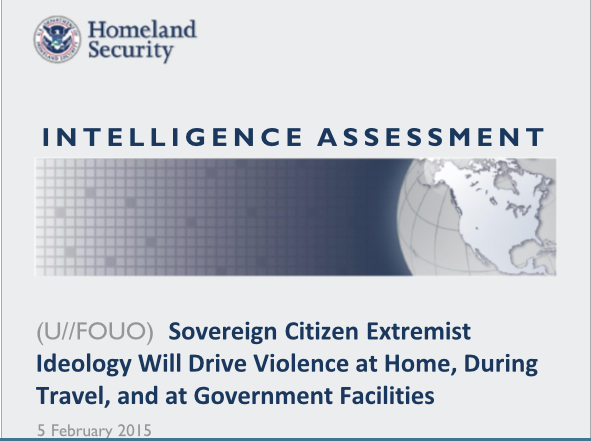 DHSIntelligenceAssessmentSovereignCitizens