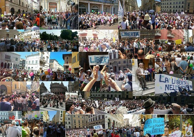 Vaccine-protests-Italy